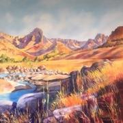 Afternoon Light Drakensberg