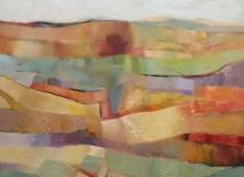 Strata - oil on canvas