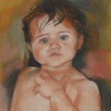 Jess - oil on canvas 405mm x 305mm