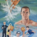 Jordy Smith - oil on canvas 1200mm x 915mm Jordy Smith - oil on canvas 1200mm x 915mm