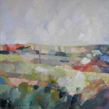 Square Landscape - oil on canvas - 700mm x 700mm