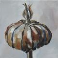 Botanicals I - oil on canvas - 200mm x 200mm