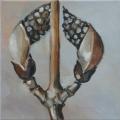Botanicals III - oil on canvas - 200mm x 200mm