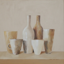 Ochre Cups and Bottles
