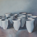 Cups I - Oil on canvas 610mm x760mm
